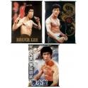 3 stk plakater med Bruce Lee
