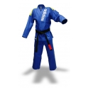 Adidas BJJ Uniform Rio Cut blå